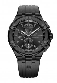 Aikon Chronograph Full Black 44 mm