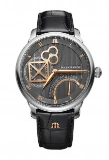 Masterpiece Square Wheel Retrograde