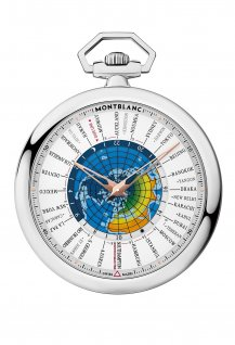 Montblanc 4810 Orbis Terrarum Pocket Watch 110 Years Edition