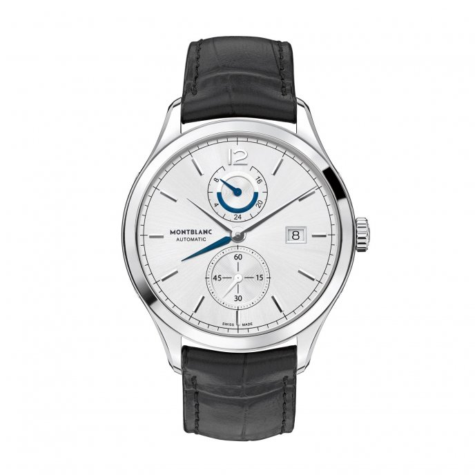 Montblanc Heritage Chronométrie Dual Time 112540 watch face view