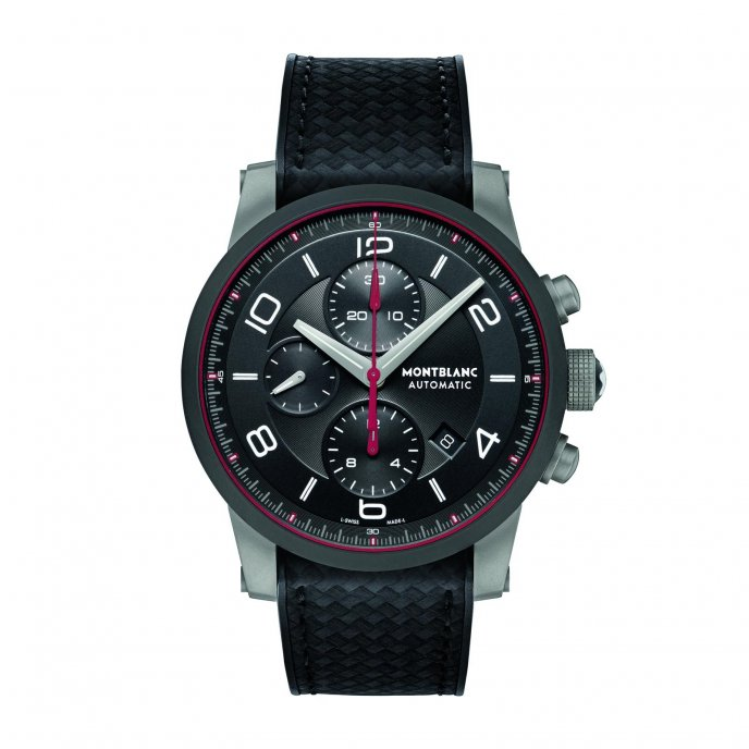 Montblanc Timewalker Urban Speed Chronograph 112604 watch face view