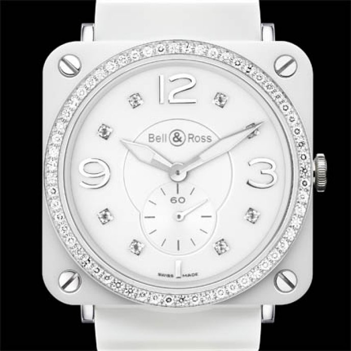 Bell & Ross - BR S White Ceramic Phantom