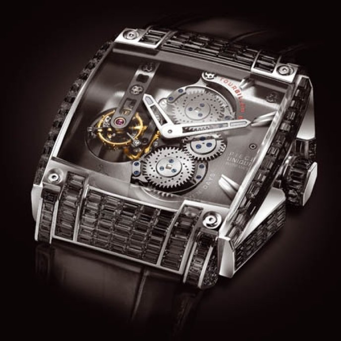 Rebellion - REB 5 Tourbillon Black Diamond