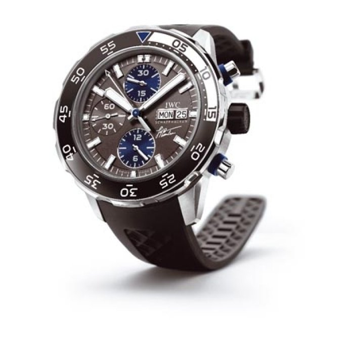 IWC - Chronographe Edition Jacques-Yves Cousteau