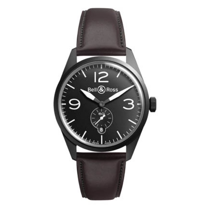 Bell & Ross - BR 123 Original Carbon