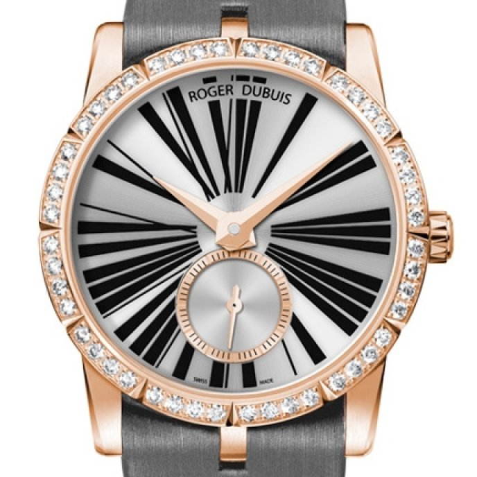 Roger Dubuis - Excalibur Lady Or Rose & Diamants