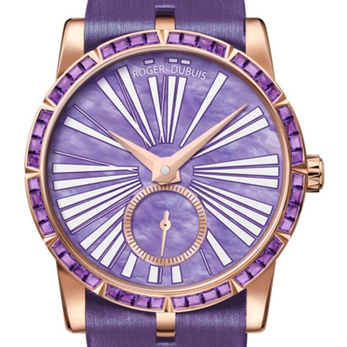 Roger Dubuis - Excalibur Lady Or Rose & Améthyste
