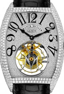 Giga Tourbillon Paved with Diamonds