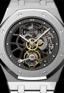 Openworked Extra-Thin Royal Oak Tourbillon