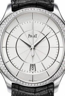 Gouverneur automatic diamond set white gold