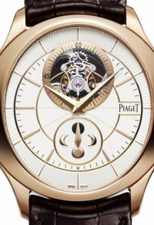 Gouverneur Tourbillon in pink gold