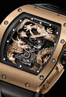 RM 057 Tourbillon Richard Mille Dragon Jackie Chan