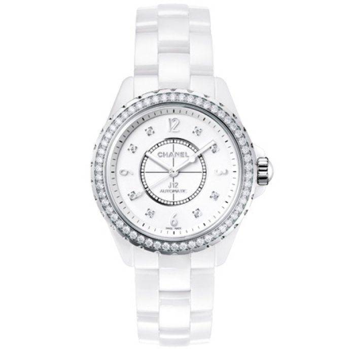 Chanel - Blanche Lunette Fine Sertie De Diamants