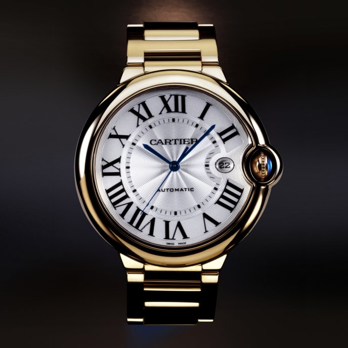 Cartier - Ballon Bleu de Cartier Grand Modèle Or Jaune