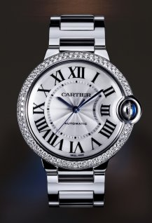 Ballon Bleu de Cartier Moyen Modèle Or Gris Diamants