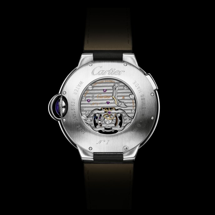 Cartier - Tourbillon second fuseau double sautant