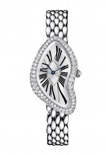 Crash White Gold Gem-Set Bezel
