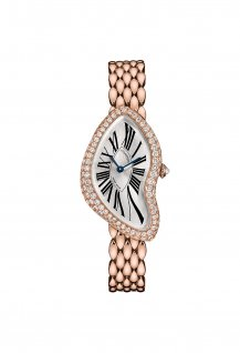 Crash Pink Gold Gem-Set Bezel