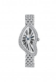 Crash White Gold Set Brillant Cut Diamonds