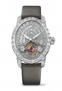 Cat's Eye High Jewellery Tourbillon With Gold Bridge