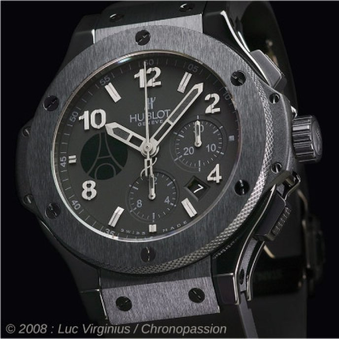 Hublot - Big Bang Paris pour Chronopassion
