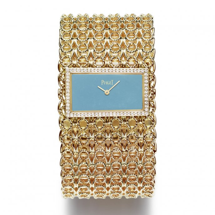 Piaget - Gold chain cuff