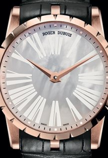 Excalibur⁴² Automatic Mother-of-Pearl dial Pink Gold