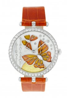 Lady Arpels Papillon Orange Solaire