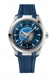 Aqua Terra 150m Co-Axial Master Chronometer GMT Worldtimer 43MM
