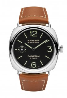PAM00609 - Radiomir Black Seal 8 Days Acciaio - 45mm