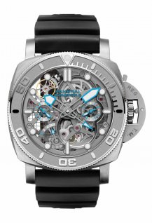 Submersible EcoPangaea Tourbillon GMT - 50 mm Mike Horn Edition