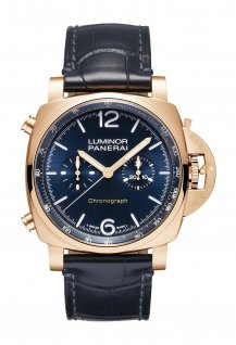 Luminor Chrono Goldtech Blu Notte