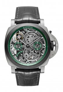 Luminor Tourbillon GMT Lo Scienziato