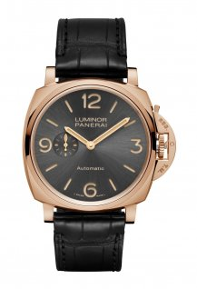 PAM00675 - Luminor Due 3 Days Automatic Oro Rosso - 45mm