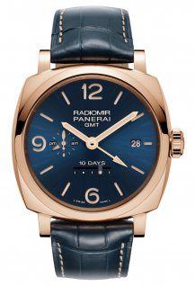 PAM00659 - Radiomir 1940 10 Days GMT Automatic Oro Rosso 45mm