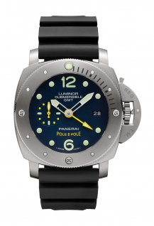 PAM00719 - Luminor Submersible 1950 3 Days GMT Automatic Titanio 47 mm