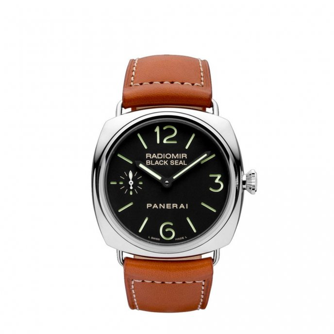 Panerai Radiomir Black Seal Acciaio PAM00183 - watch face view