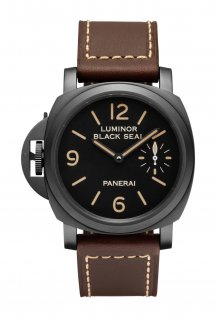 PAM00786 - Luminor Black Seal Left-Handed 8 Days Acciaio DLC- 44mm