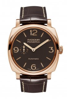 PAM00573 - Radiomir 1940 3 Days Automatic Red Gold