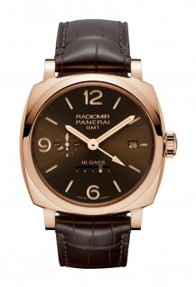 PAM00624 - Radiomir 1940 10 Days GMT Automatic Oro Rosso - 45mm