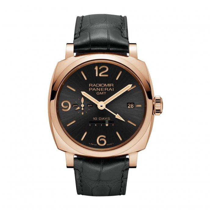 PAM00625 - Radiomir 1940 10 Days GMT Automatic Oro Rosso - 45mm