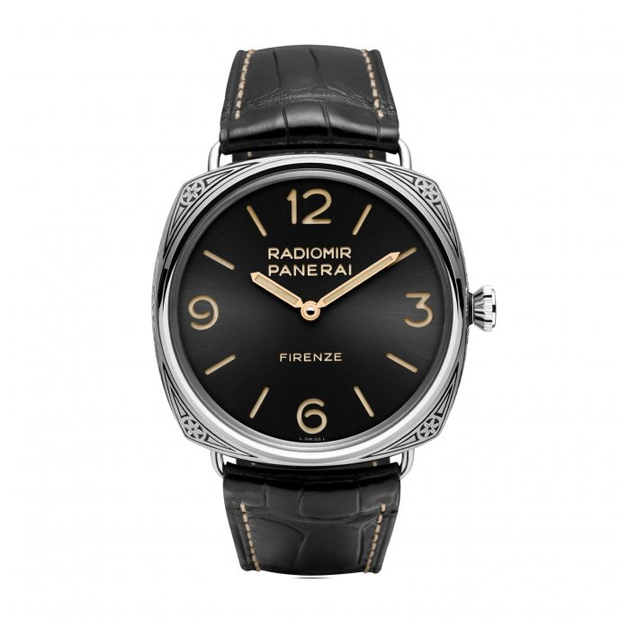 Panerai Firenze 3 Days Acciaio - 47mm PAM00604 watch face view