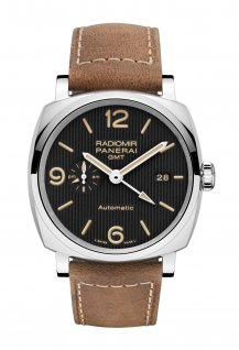 PAM00657 - Radiomir 1940 3 Days GMT Automatic Acciaio - 45mm