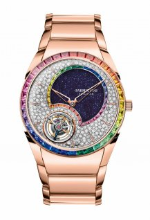 Tonda 1950 Flying Tourbillon Double Rainbow