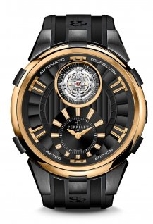Tourbillon Black & Gold