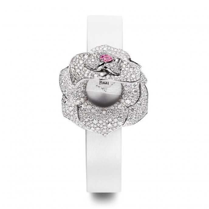 Piaget Montre à Secret Rose Passion G0A39281 Open Watch-face-view