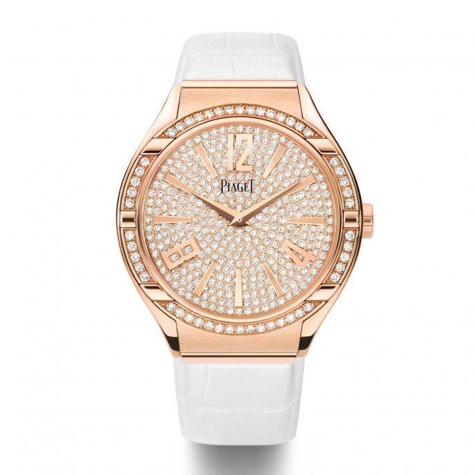 Piaget-Polo-FortyFive-Lady-Pink-Gold-G0A38013-face-view