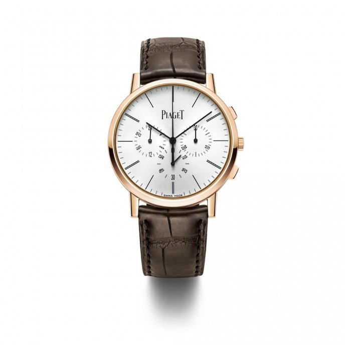 Piaget Altiplano Chronographe G0A40030 watch face view