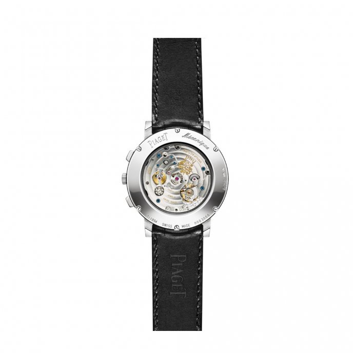 Piaget Altiplano Chronographe G0A40031 watch face view