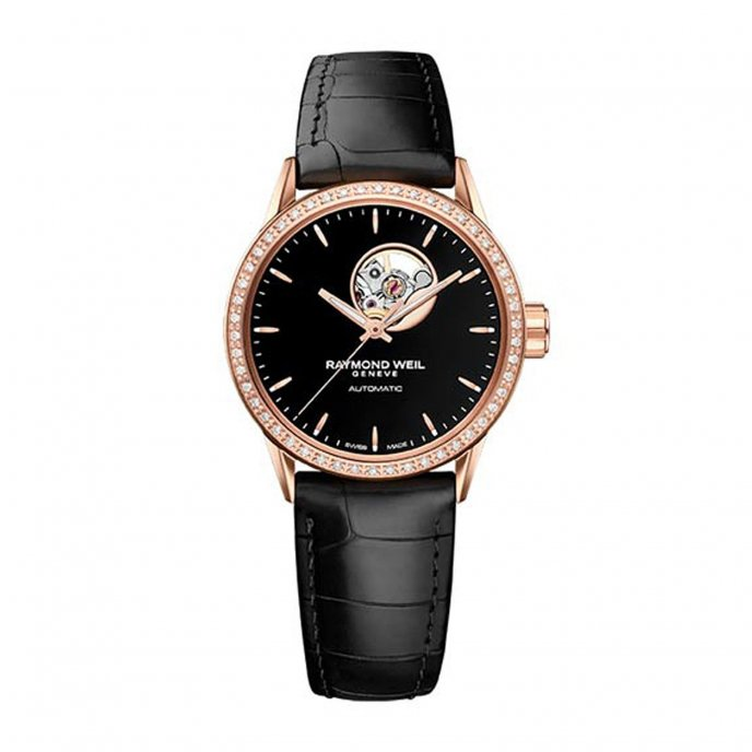 Raymond Weil Freelancer Or Rose Watch-face-view